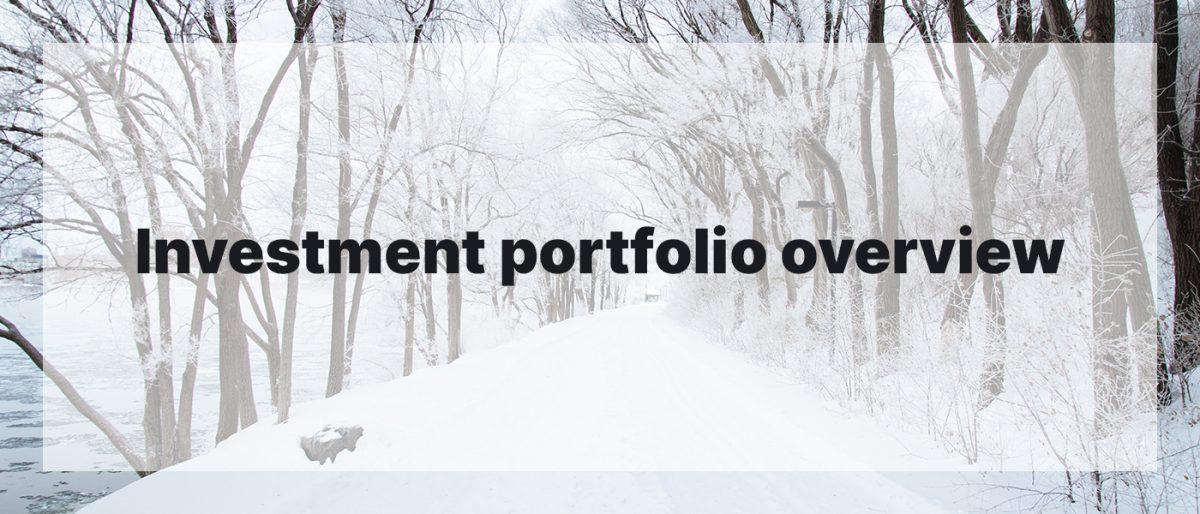 Investment Portfolio Overview Janaury 2020