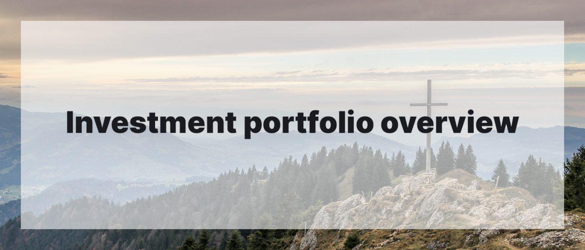 Investment Portfolio Overview April 2020