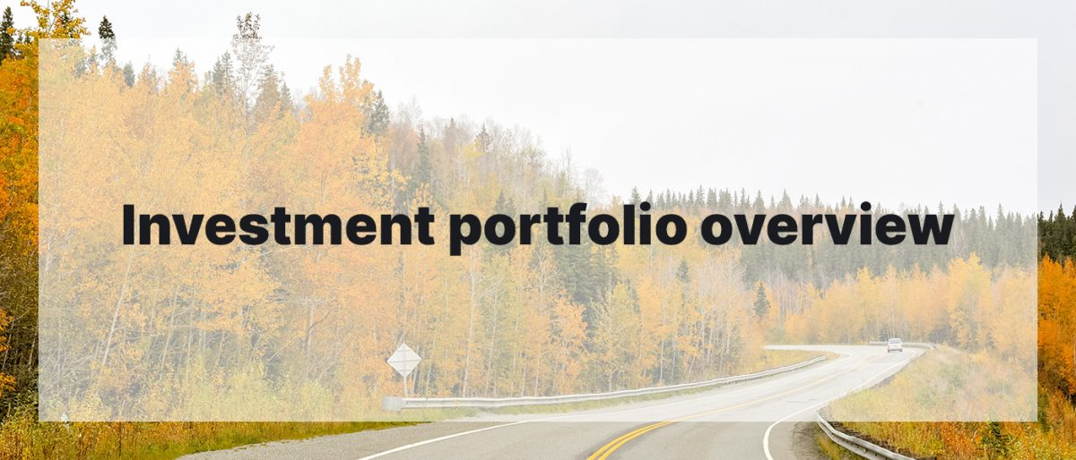 Investment Portfolio Overview September 2020